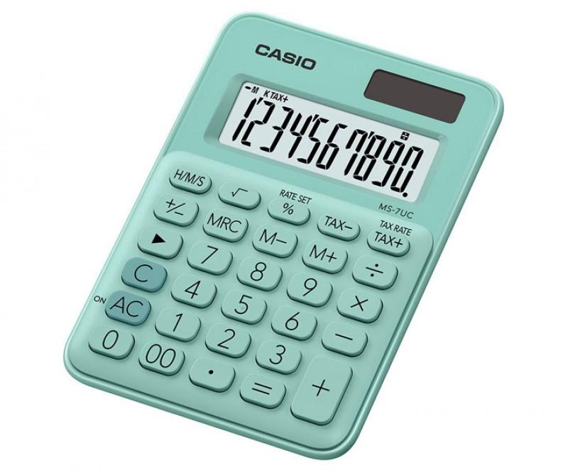 เครื่องคิดเลข Casio MS-7UC-GN