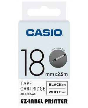 เทปพิมพ์ฉลาก Casio XR-18HSWE