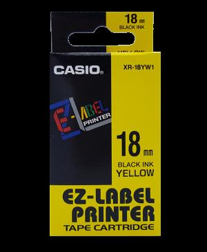 เทปพิมพ์ฉลาก Casio XR-18YW1