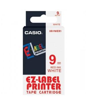 เทปพิมพ์ฉลาก Casio XR-9WER1