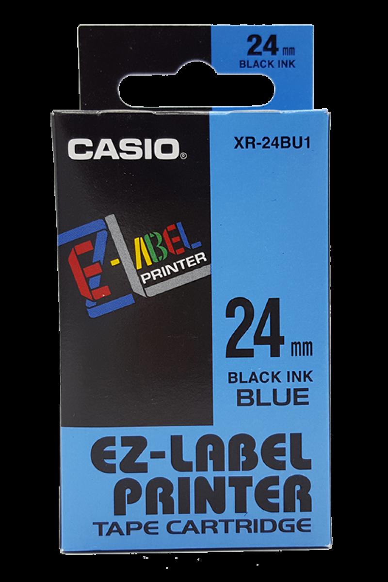เทปพิมพ์ฉลาก Casio XR-24BU1