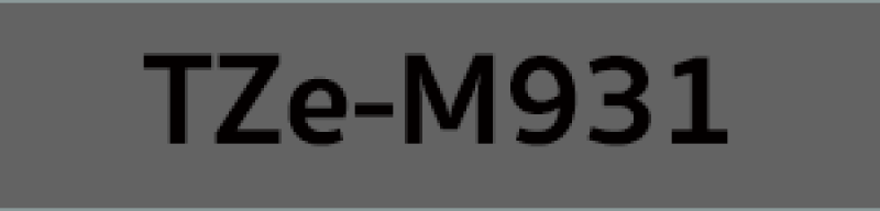 เทปพิมพ์ฉลาก Brother TZE-M931 ชนิดเคลือบพลาสติก