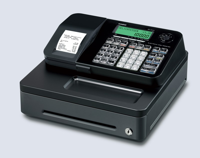 เครื่องบันทึกเงินสด Casio SE-S100 Black