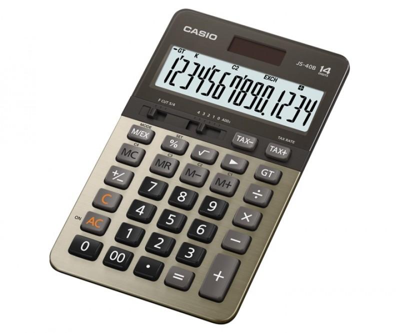 เครื่องคิดเลข Casio JS-40B-GD