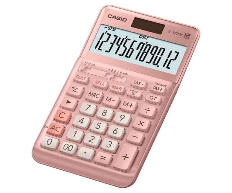 เครื่องคิดเลข Casio JF-120FM-PK