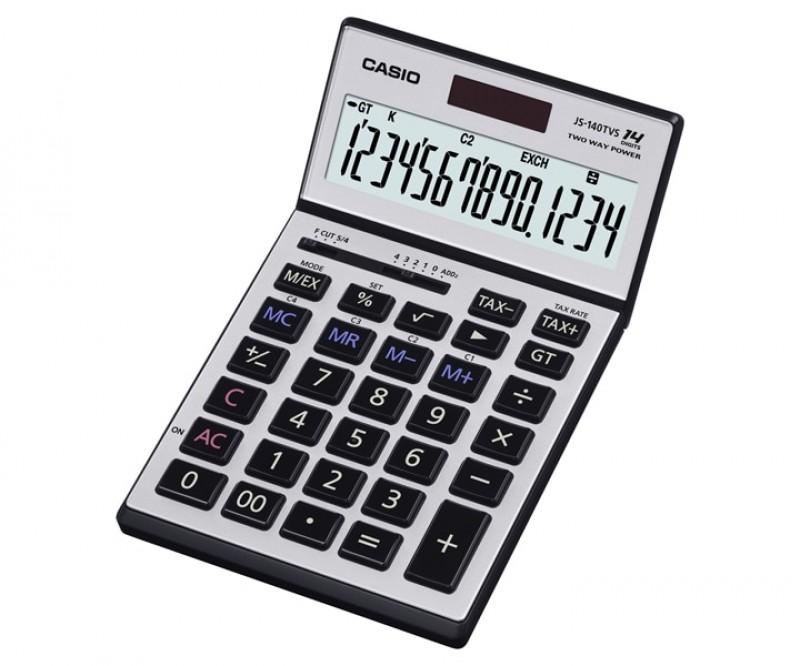 เครื่องคิดเลข Casio JS-140TVS