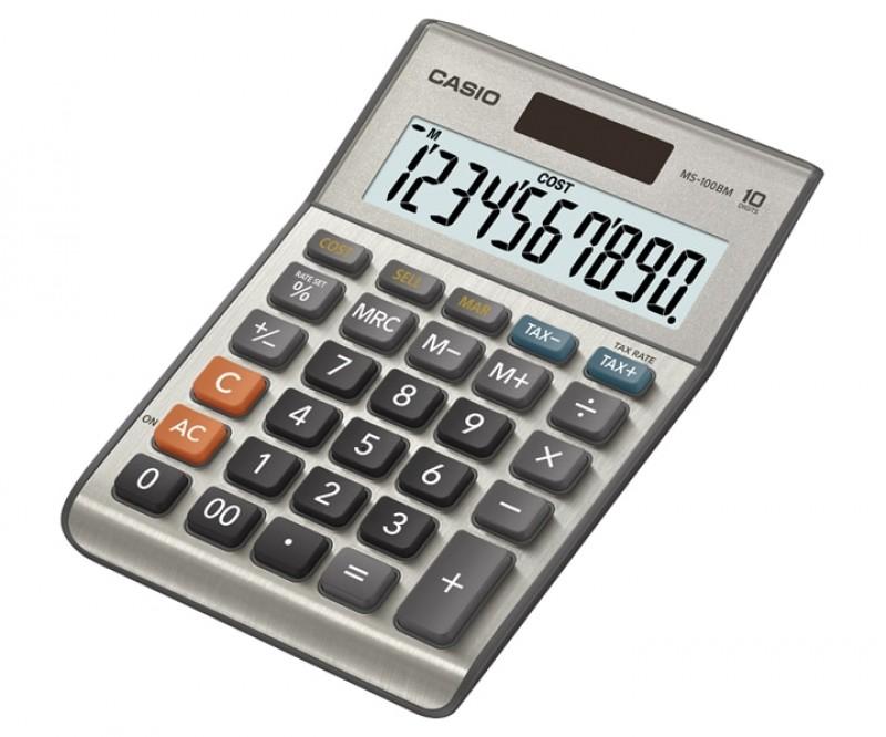 เครื่องคิดเลข Casio MS-100BM