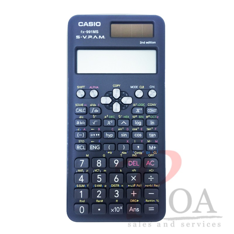 เครื่องคิดเลข Casio FX-991MS ดีไซน์ใหม่ 2nd Edition