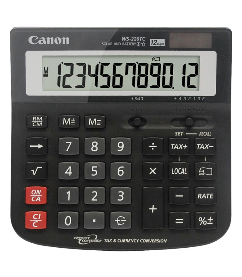 เครื่องคิดเลข Canon WS-220TC