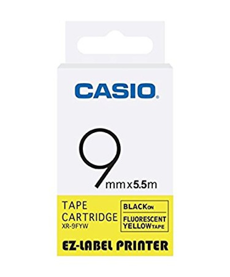 เทปพิมพ์ฉลาก Casio XR-9FYW
