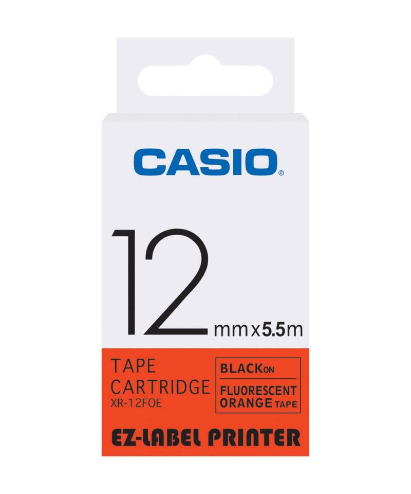 เทปพิมพ์ฉลาก Casio XR-12FOE
