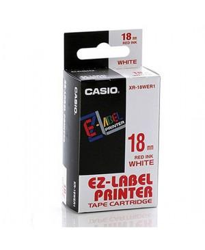 เทปพิมพ์ฉลาก Casio XR-18WER1