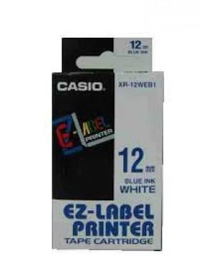 เทปพิมพ์ฉลาก Casio XR-12WEB1