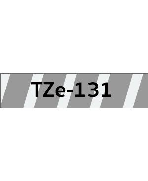 เทปพิมพ์ฉลาก Brother TZE-131 ชนิดเคลือบพลาสติก