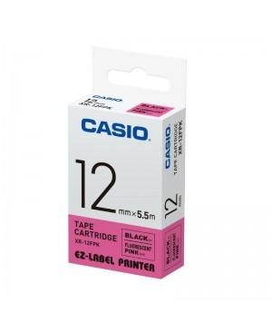 เทปพิมพ์ฉลาก Casio XR-12FPK