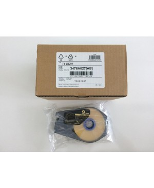เทป Canon Label Tape Cassette 9mmx30m (YELLOW)