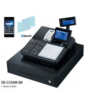 เครื่องบันทึกเงินสดที่เชื่อมต่อสมาร์ทโฟน Casio SR-C550