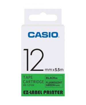 เทปพิมพ์ฉลาก Casio XR-12FGN