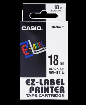 เทปพิมพ์ฉลาก Casio XR-18WE1