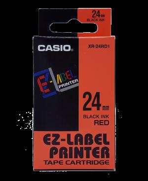 เทปพิมพ์ฉลาก Casio XR-24RD1