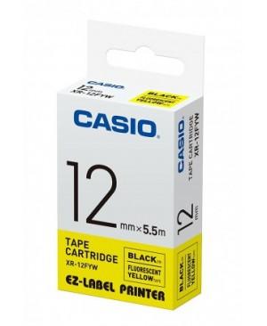 เทปพิมพ์ฉลาก Casio XR-12FYW
