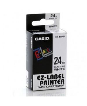 เทปพิมพ์ฉลาก Casio XR-24WE1