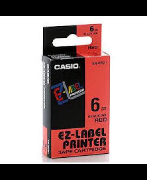 เทปพิมพ์ฉลาก Casio XR-6RD1