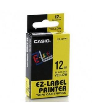 เทปพิมพ์ฉลาก Casio XR-12YW1