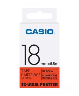 เทปพิมพ์ฉลาก Casio XR-18FOE