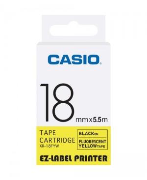 เทปพิมพ์ฉลาก Casio XR-18FYW