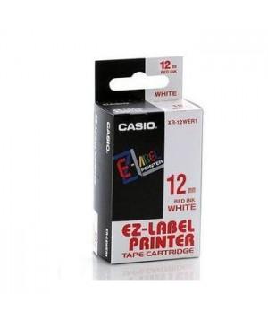 เทปพิมพ์ฉลาก Casio XR-12WER1