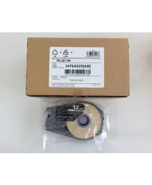 เทป Canon Label Tape Cassette 12mmx30m (WHITE)