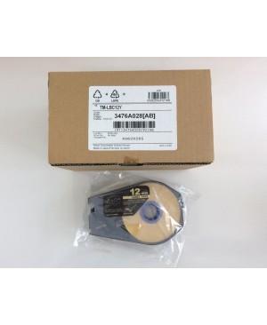 เทป Canon Label Tape Cassette 12mmx30m (YELLOW)