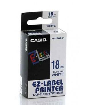 เทปพิมพ์ฉลาก Casio XR-18WEB1