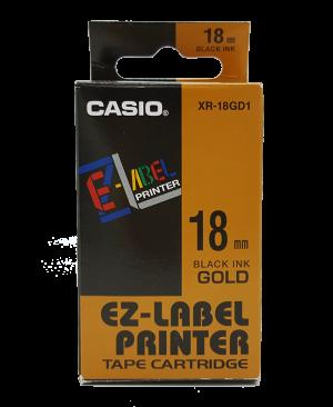 เทปพิมพ์ฉลาก Casio XR-18GD1