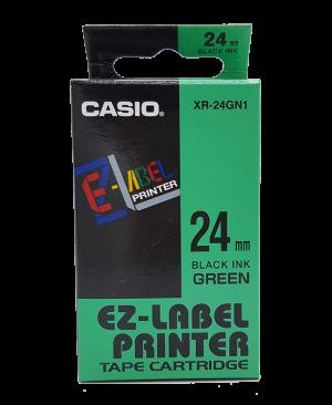 เทปพิมพ์ฉลาก Casio XR-24GN1