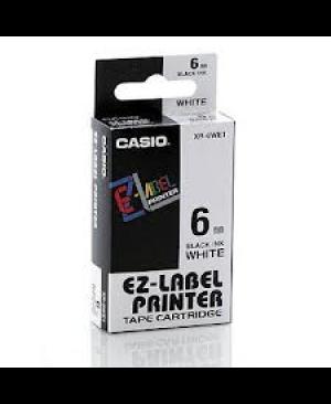 เทปพิมพ์ฉลาก Casio XR-6WE1