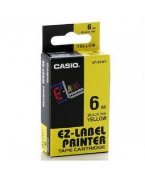 เทปพิมพ์ฉลาก Casio XR-6YW1