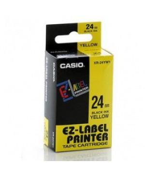 เทปพิมพ์ฉลาก Casio XR-24YW1